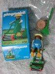 画像2: プレイモービル庭師と芝刈り機3752 (2)