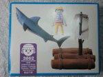 画像3: プレイモービル3862・サメに襲われるイカダ漂流者 (3)