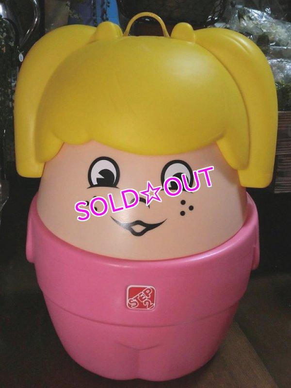 画像1: step2女の子おもちゃ箱E(トイボックス) (1)
