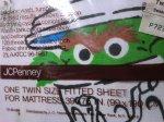 画像3: セサミストリート・ツインボックスシーツ (3)