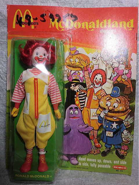 画像1: ロナルド・マクドナルド人形 (1)