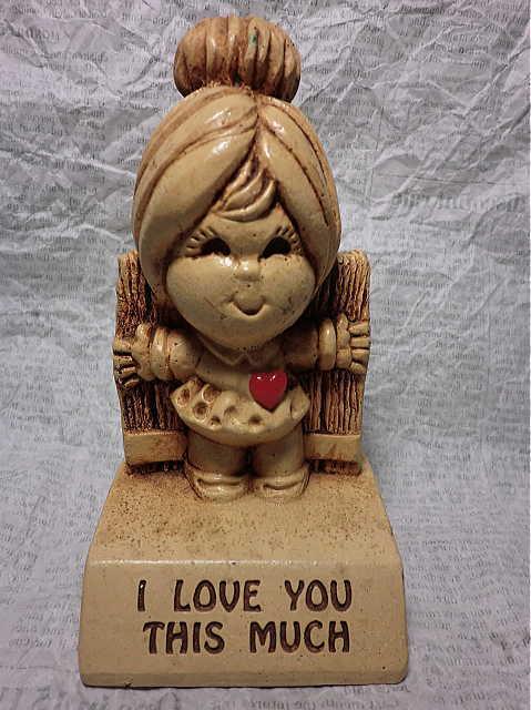 画像1: メッセージドール I love you (1)