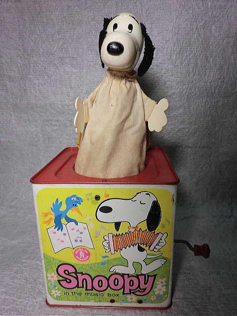 画像1: スヌーピーびっくり箱 (1)