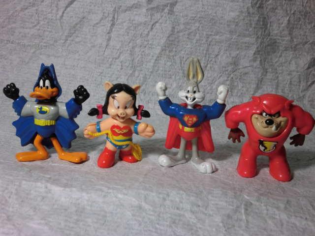 画像1: ルーニーテューンズ・スーパーヒーローズ・マクドナルド (1)