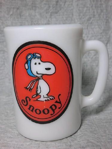 画像1: エイボン・スヌーピーマグカップ (1)