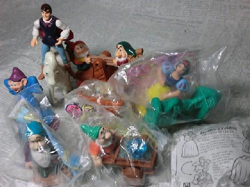画像1: 白雪姫と7人のこびと (1)