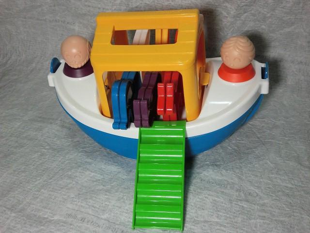 画像1: タッパーウェアトイ・ノアの方舟セット (1)