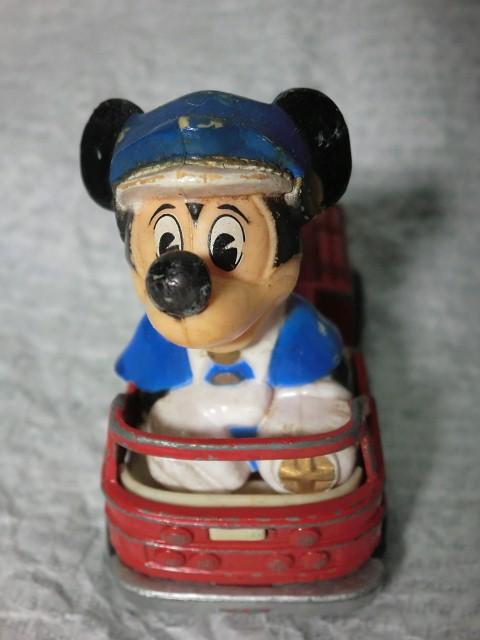 画像1: ミッキーマウスマッチボックスカー (1)