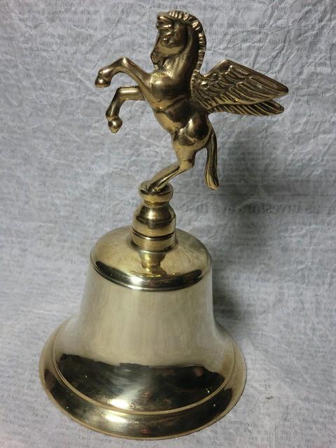 画像1: ペガサス・真鍮ハンドベル (1)