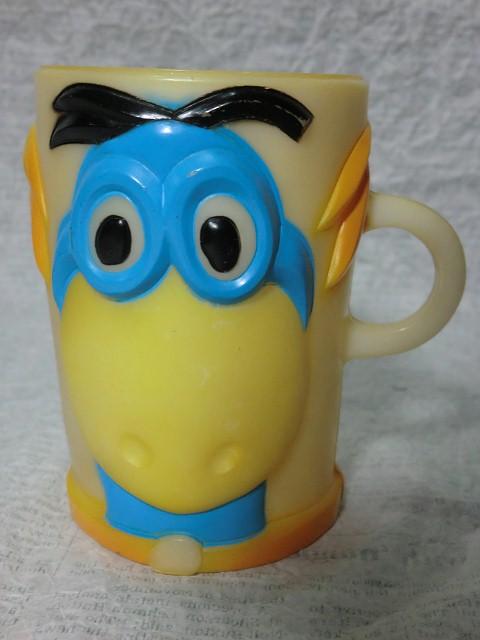 画像1: ディノ・プラスチックマグカップ (1)