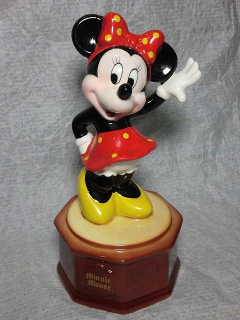 画像1: ミニーマウス・オルゴール (1)