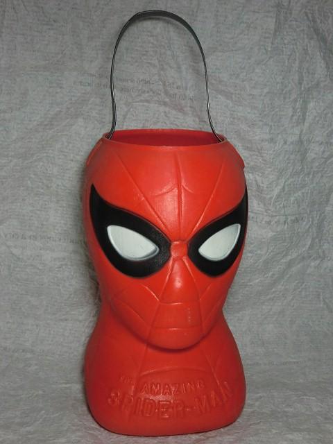 画像1: スパイダーマン・ハロウィーンバケツ (1)