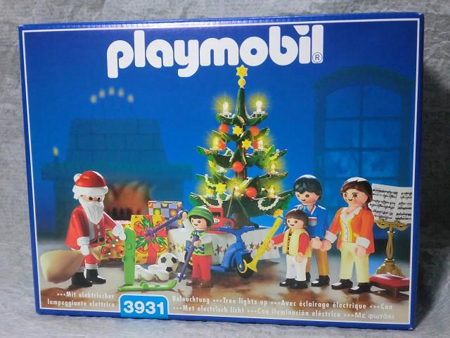 画像1: プレイモービル3931クリスマスルーム (1)