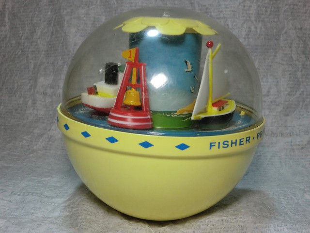 画像1: フィッシャープライス・ボートチャイム (1)