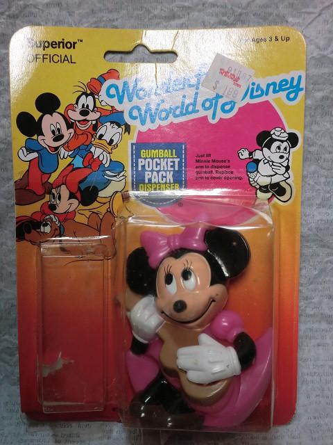 画像1: ミニーマウス・ガムボールディスペンサー (1)