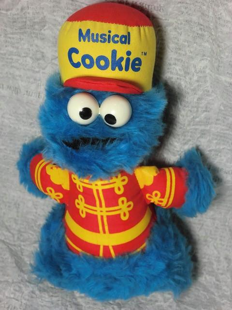 画像1: クッキーモンスター・ミュージカルドール (1)
