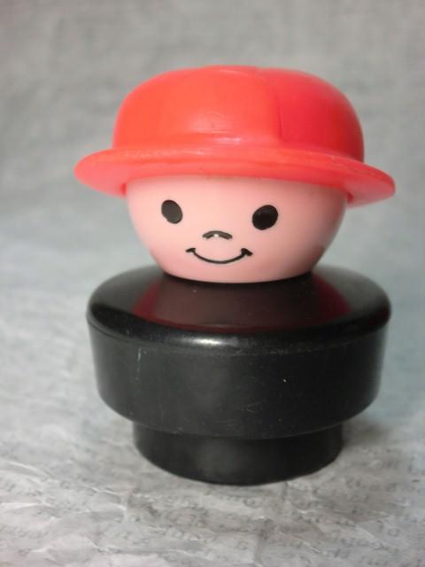 画像1: フィッシャープライス・リトルピープル・消防士 (1)
