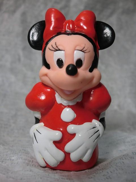画像1: ミニーマウス指人形 (1)