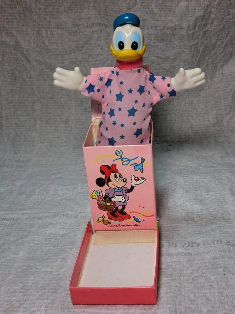 画像1: ドナルドダック・びっくり箱 (1)
