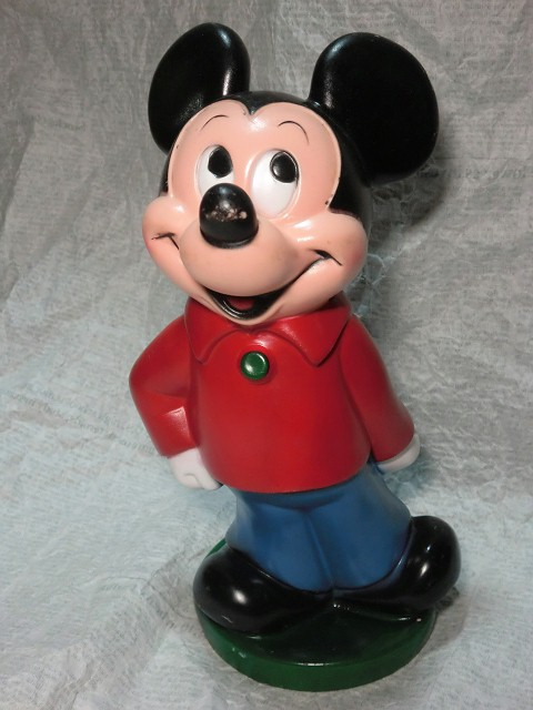 画像1: ミッキーマウスクラブ貯金箱 (1)