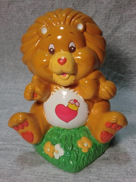 画像1: ケアベアカズン・貯金箱(ライオン) (1)
