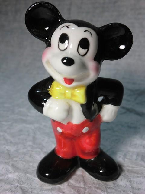 画像1: ミッキーマウスフィギュア(腕腰) (1)
