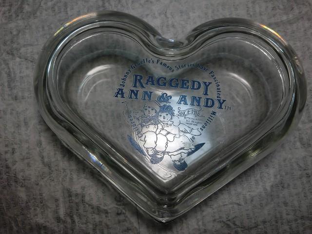 画像1: ラガディ・アン&アンディガラス製小物入れ (1)