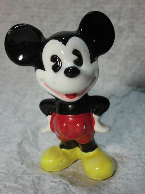 画像1: ミッキーマウスフィギュア(両手腰) (1)