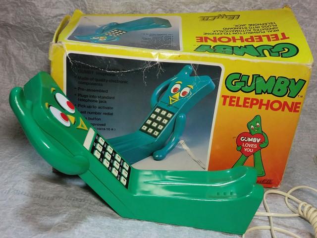 画像1: ガンビー電話機 (1)