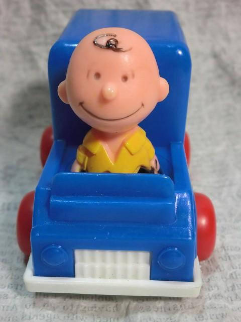 画像1: チャーリーブラウン・スヌーピーアイスクリームカー (1)