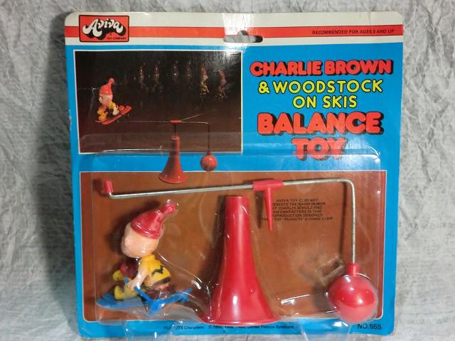 画像1: チャーリーブラウン・バランストイ(スキー) (1)