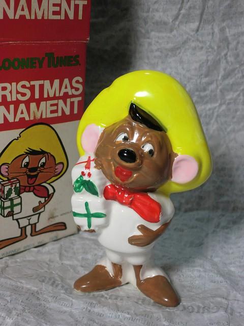 画像1: スピーディー・ゴンザレス・クリスマスオーナメント(箱) (1)