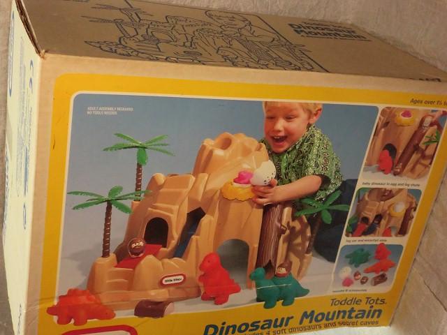 画像1: リトルタイクス・原始時代・恐竜・原始人・卵・山のセットM (1)