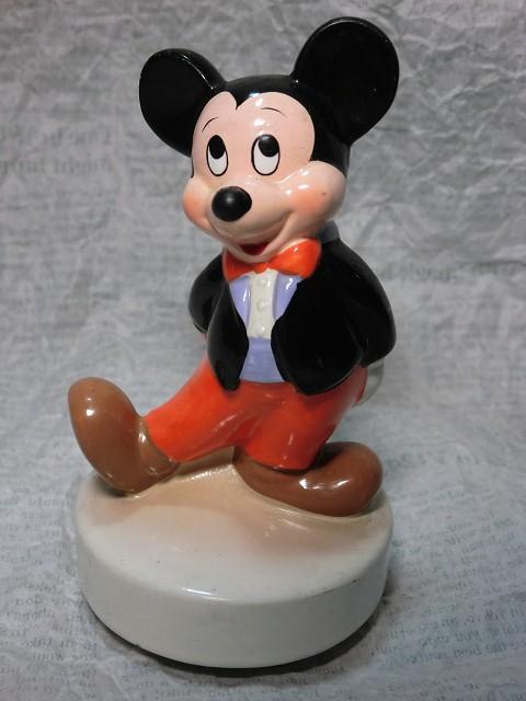 画像1: ミッキーマウス・オルゴール(ハット) (1)