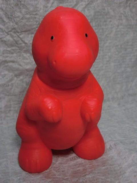 画像1: リトルタイクス・恐竜赤 (1)