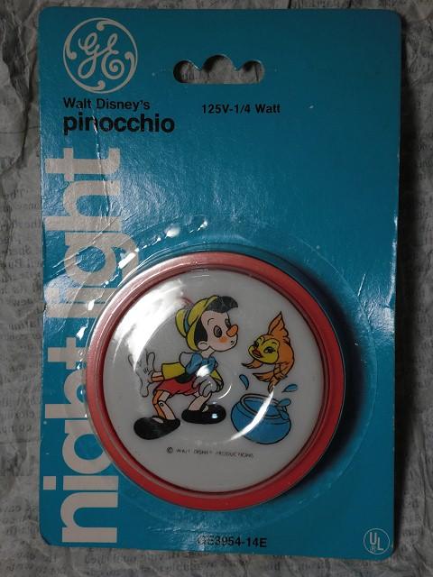 画像1: ピノキオ・ナイトライト (1)