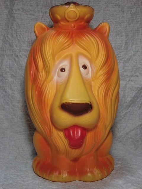 画像1: ライオン貯金箱 (1)