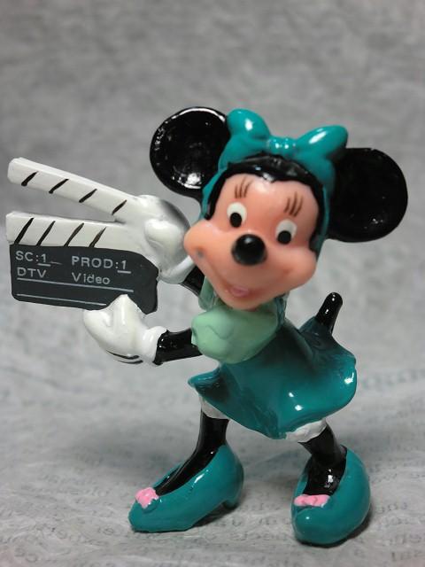 画像1: ミニーマウスPVCフィギュア(カチンコ)D (1)