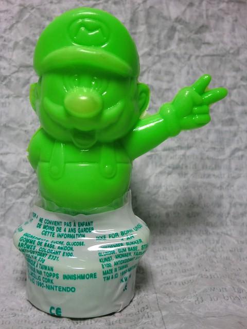 画像1: スーパーマリオ・トップス緑 (1)