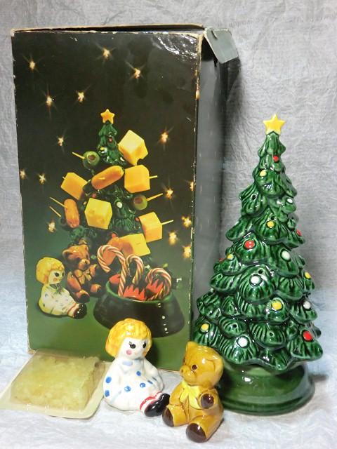 画像1: エイボン・クリスマスツリーホステスセット (1)