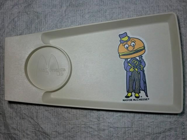 画像1: メイヤーマックチーズトレイ・マクドナルド (1)