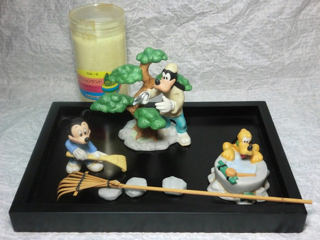 画像1: ディズニー箱庭フィギュアセット (1)