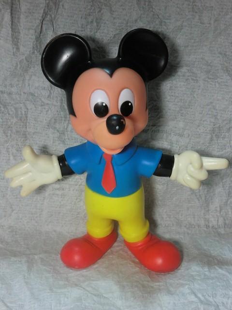 画像1: ミッキーマウスドール(黄色パンツ) (1)