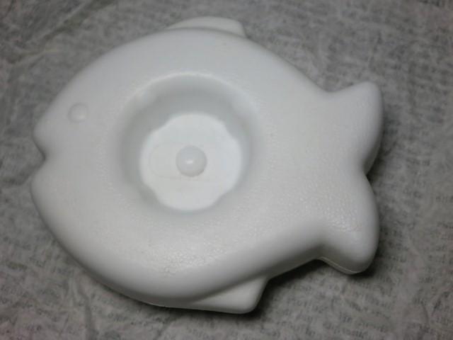 画像1: リトルタイクス浮き・白魚 (1)