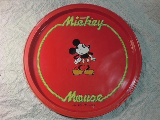 画像1: ミッキーマウス・ティントレイ (1)