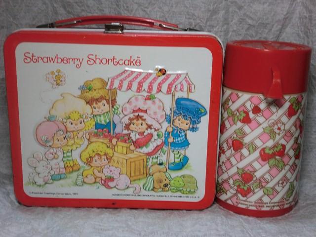 画像1: ストロベリーショートケーキランチボックス (1)