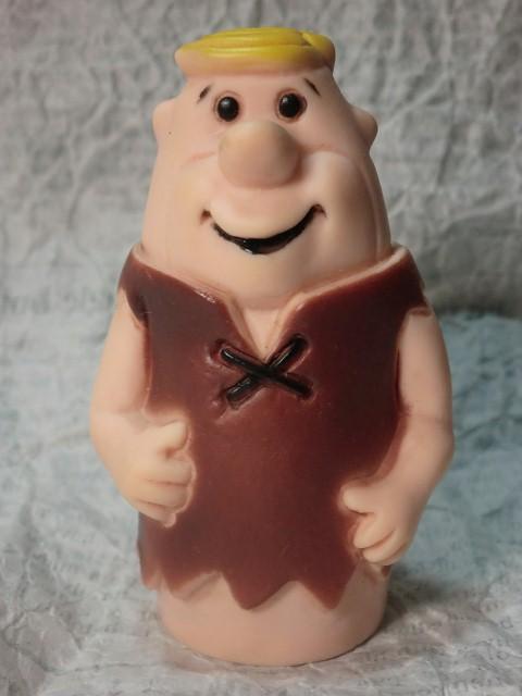 画像1: フリントストーン・バーニー指人形 (1)