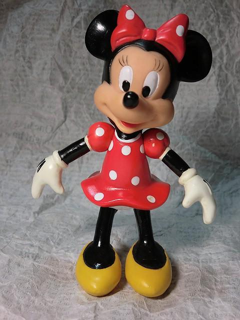 画像1: ミニーマウス・ジョイントフィギュア (1)