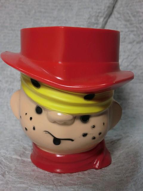 画像1: わんぱくデニス・ミルクマグカップ (1)