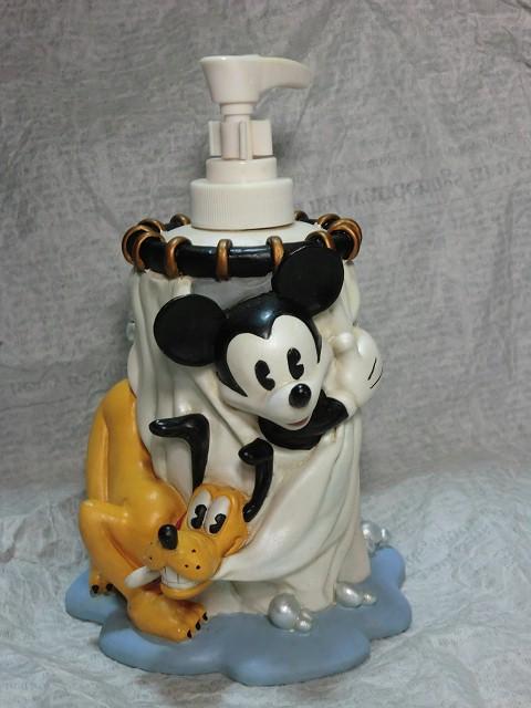 画像1: ミッキーマウス&プルート・ソープディスペンサー (1)
